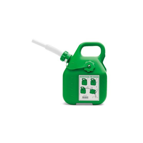 Bidon d'essence vert HUSQVARNA