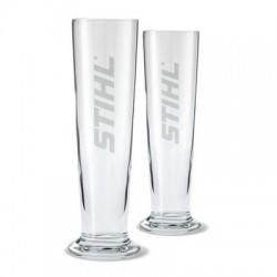 STIHL Ensemble de 2 verres à bière