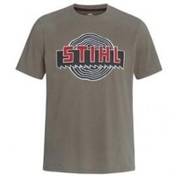 """STIHL T-shirt """"Heritage"""" Olive"""