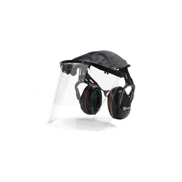 Protège-oreilles avec visière plexiglas HUSQVARNA