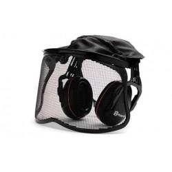 Protège-oreilles Avec Visière Grillagée