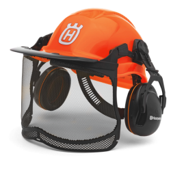 Casque HUSQVARNA FUNCTIONAL orange fluo