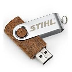 STIHL Clef USB en bois 16 GB