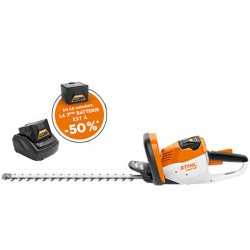 TAILLE-HAIES A BATTERIE STIHL HSA 56 PACK INITIAL