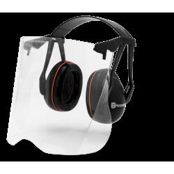 Protège-oreilles Avec Visière Plexiglas | Gardener