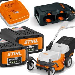 PACK AP300 S | RMA 765  V + Chargeur + 2 Batteries + Adaptateur | STIHL