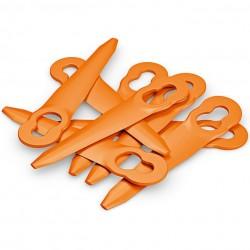8 Couteaux de Rechange | PolyCut FSA